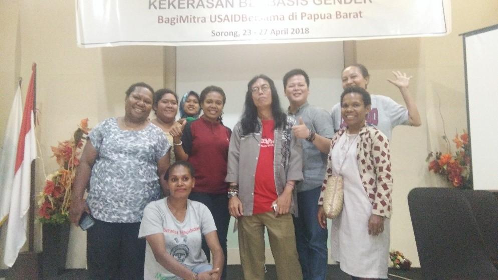 USAID BERSAMA – Training Analisis Sosial dan Gender Papua Barat (Apr 2018)